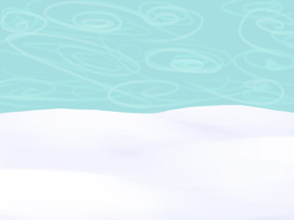 Lumihanki ja sininen taivas