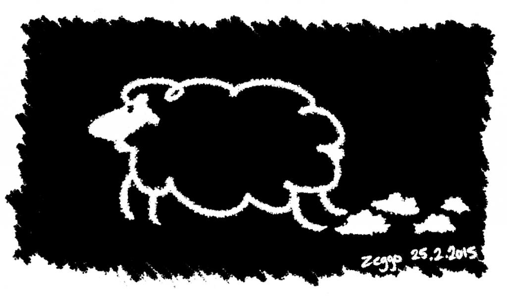 Loikkiva lammas