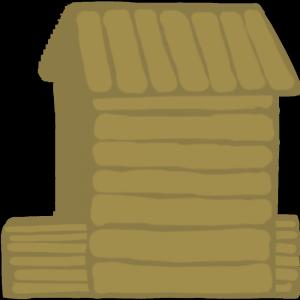 yksinkertainen puumaja