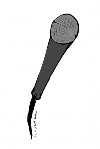 Langallinen mikrofoni